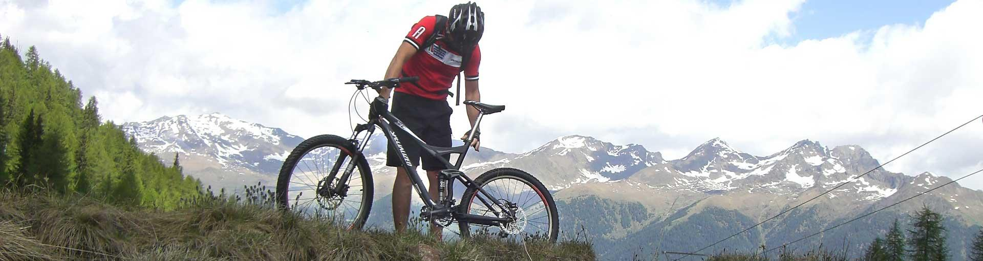 Mountain Bike in Val di Sole